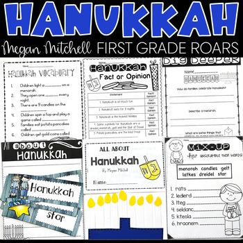 Hanukkah a Non-fiction Unit
