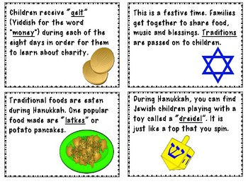 All About Hanukkah- A Primary Little Book-FREEBIE