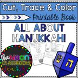 """All About Hanukkah"" Cut, Trace & Color Printable Book!"
