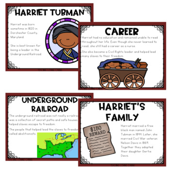 All About Harriet Tubman - Black History Month