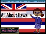 All About Hawaii | US States | Activities & Worksheets