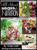 All About Health And Nutrition- for kindergarteners and first graders