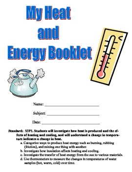 Heat Unit-Experiment Booklet (10 Hands-On Experiments!)