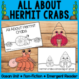 All About Hermit Crabs | Emergent Readers | Non-Fiction |