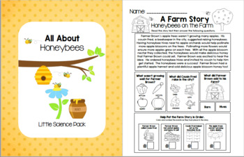 All About Honeybees - Little Science Pack