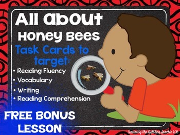 All About Honeybees Listening & Reading Comprehension Task