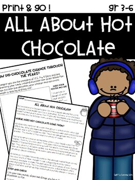 All About Hot Chocolate!