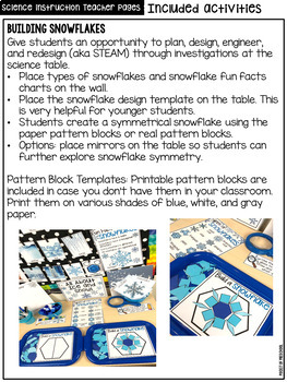 All About Ice & Snow  - Science for Little Learners (preschool, pre-k, & kinder)