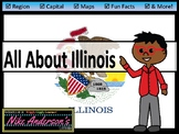 All About Illinois   US States   Activities & Worksheets