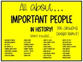 All About... Important People in History