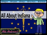 All About Indiana   US States   Activities & Worksheets
