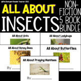 All About Insects: Emergent Reader Book Bundle of Non Fiction Books