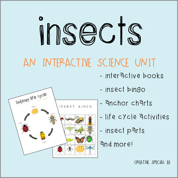 All About Insects Interactive Science Unit