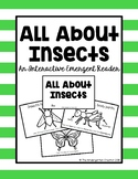All About Insects Emergent Reader