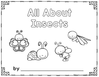 All About Insects {Literacy, Math & Science Unit}