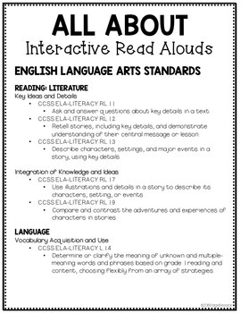 All About Interactive Read Alouds