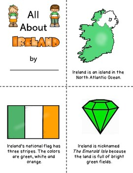 All About Ireland Coloring Booklet