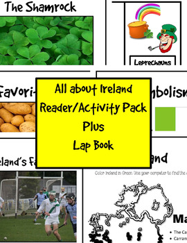 All About Ireland Reader/Activity/Lap Book