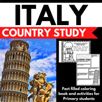 Italy Country Study Mini Book Unit Project
