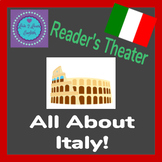 All About Italy Reader's Theater + 3 Worksheets