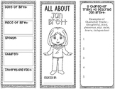All About Jan Brett - Biography Research Project - Interactive Notebook