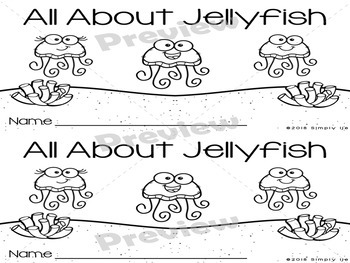 All About Jellyfish | Emergent Readers | Non-Fiction | Ocean Animals