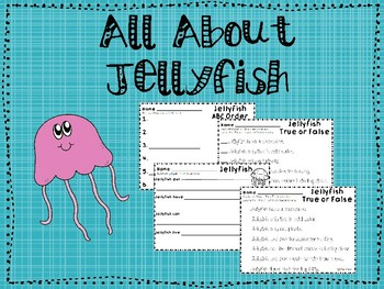 All About Jellyfish Unit