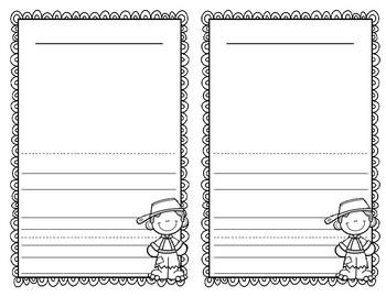 All About Johnny Appleseed Booklet