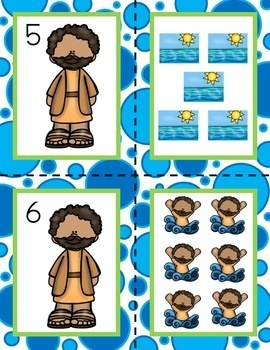 All About Jonah and the Whale Minilesson for Preschool, PreK, K, & Homeschool