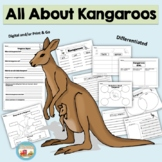 All About Kangaroos, Writing Activities, Graphic Organizers, Diagram