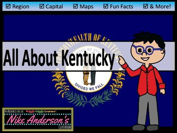 All About Kentucky | US States | Activities & Worksheets