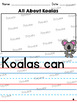 All About Koala: Writing Templates
