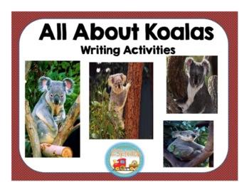 Koalas, Writing Activities, Graphic Organizers, Diagram