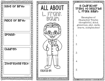 All About L. Frank Baum - Biography Research Project - Int