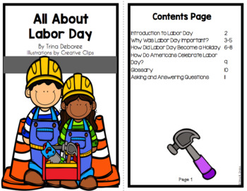 All About Labor Day: An Informational Text Interactive Reader
