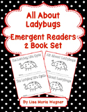 All About Ladybugs Emergent Readers 2 Book Set