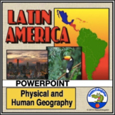 Latin America PowerPoint with Fun Facts and Photos Distance Learning