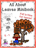 All About Leaves Mini Book