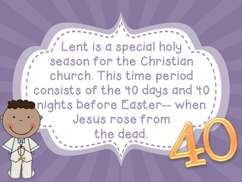 All About Lent