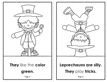 All About Leprechauns (A St. Patrick's Day Book for Emergent Readers)