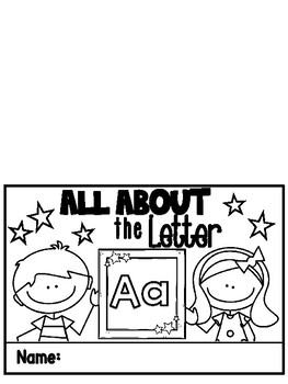 All About Letters Flip and Learn A-Z Booklets
