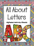 All About Letters {Ladybug Learning Projects}