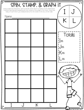 All About Letters, Sounds, Sight Words, & CVC Words Stamping Pack