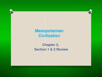 All About Life in...Mesopotamia