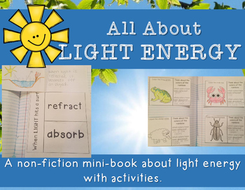 Light Energy - Minibook and Activities