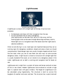 All About Lighthouses