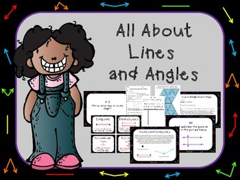 All About Lines and Angles Lesson Pack