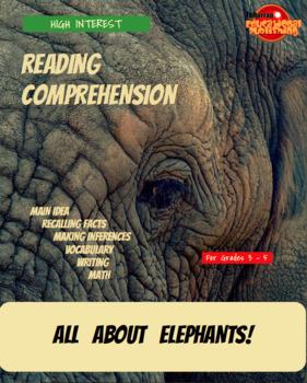 All About Lions, Giraffes, Elephants, Sharks and Bears Bundle!