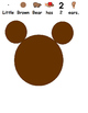 All About Little Bear (Autism, Speech, Art Project, 5 Senses)