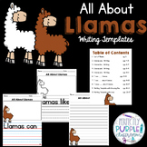 All About Llamas: Writing Templates